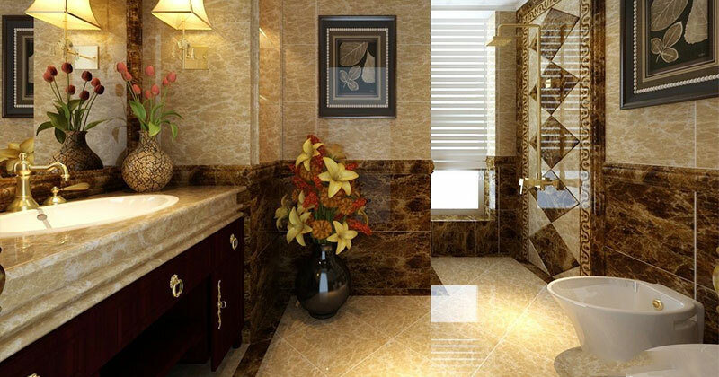 Tham khảo ý tưởng thiết kế nhà vệ sinh vừa đẹp vừa vừa sang và tiện nghi - Hút Hầm Cầu Phú Lộc