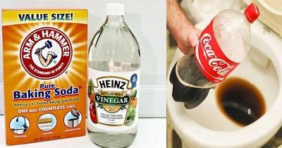 3 cách sử dụng bột baking soda và nước ngọt thông bồn cầu hiệu quả ngay lần đầu