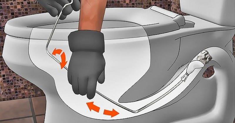 6 cách thông tắc bồn cầu nghẹt đơn giản hiệu quả trong tích tắc - Hình 5