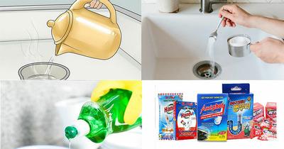 9 cách thông cống nghẹt tại nhà dễ làm và hiệu quả