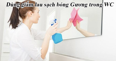 Cách sử dụng gia vị nấu ăn làm sạch bóng nhà vệ sinh nhanh chóng hiệu quả cao