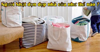 Hướng dẫn cách dọn dẹp nhà cửa thông minh như người Nhật