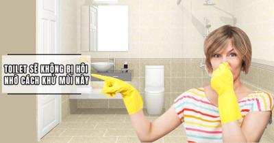 Loại bỏ mùi hôi nhà vệ sinh: 5 thắc mắc ai cũng nên biết