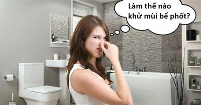 Mùi hôi nhà vệ sinh nồng nặc: Áp dụng ngay mẹo sau đây