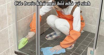 Nguyên nhân và cách xử lý nhà vệ sinh bốc mùi hôi