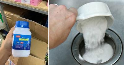 Những lưu ý khi sử dụng bột thông cống và bột thông bồn cầu